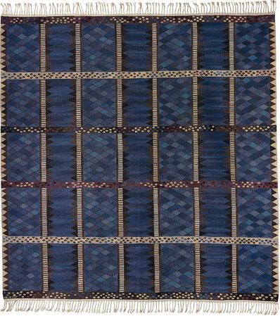 """Marianne Richter, '""""Josefina blå"""" rug', designed 1955-woven 1957"""