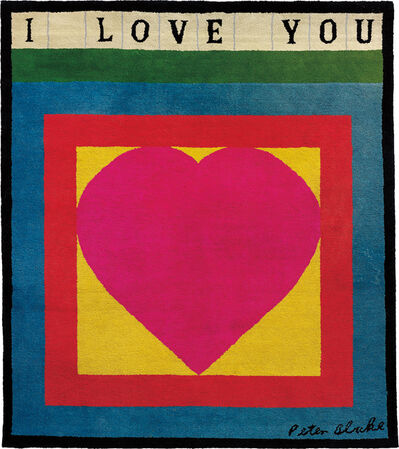 Peter Blake, 'I Love You', 1983