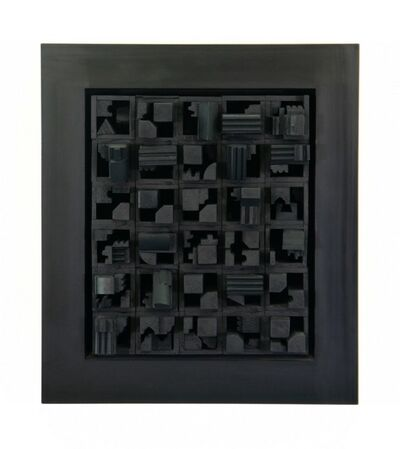 Louise Nevelson, 'City Space Scape XX', 1971