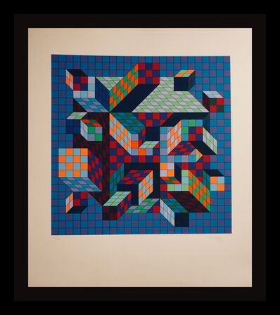 Victor Vasarely, 'Srt-MC', 1978