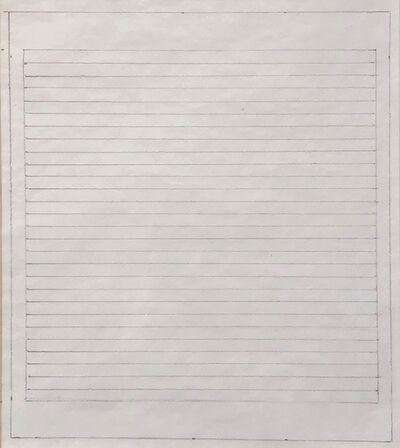 Agnes Martin, 'Untitled', 1965