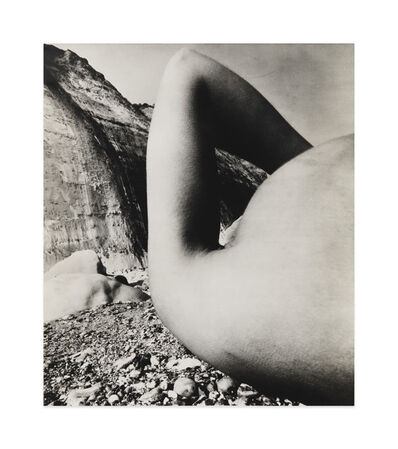 Bill Brandt, 'Nude, Vasterival Beach, Normandy', May 1957