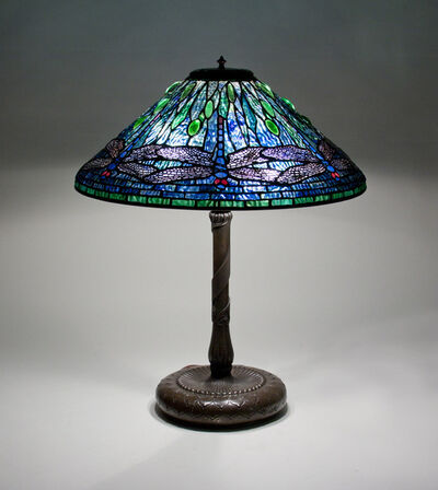 Tiffany Studios, 'Dragonfly Table Lamp', ca. 1904