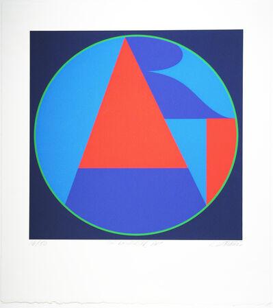 Robert Indiana, 'The Neuberger ART', 1975