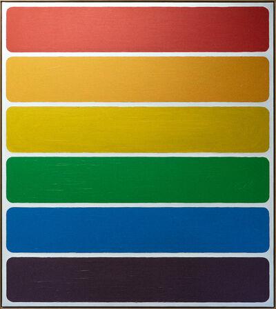 Bertrand Fournier, 'Rainbow domino II', 2019