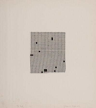 Johanna Calle, 'Sin titulo (restas en tinta)/Untitled (ink restas)', 2017