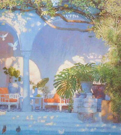 Nicholas Verrall, 'Sunlight in the Inner Courtyard', 2018