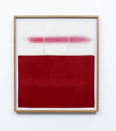 Carla Chaim, 'Untitled III (risk red carbon)', 2020