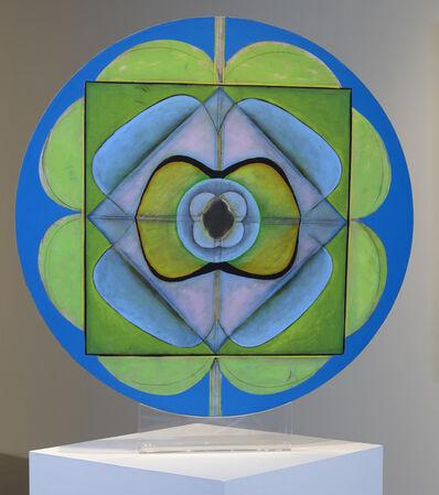 Ida Kohlmeyer, 'Untitled Disc', c. 1969