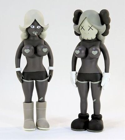 KAWS, 'THE TWINS (GREY)', 2006
