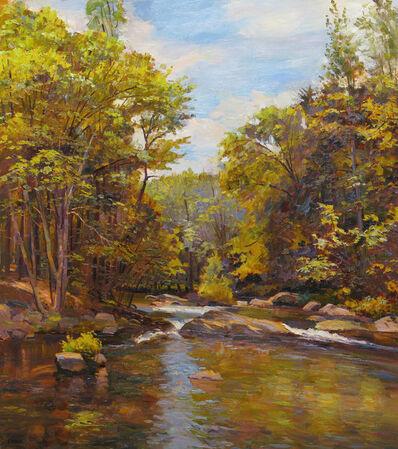 Joel Babb, 'Old Mill Site on the Nezinscot, Turner, Maine', 2011