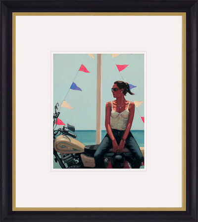 Jack Vettriano, 'La Fille a la Moto', 2018
