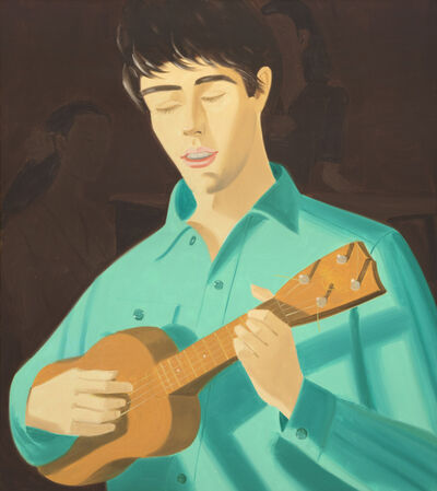 Alex Katz, 'Ukulele Player', 1981