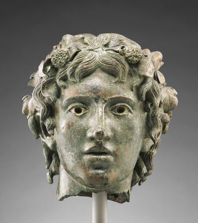 'Head from the Statue of the Young Bacchus',  first half of 1st century