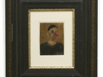 Rosemarie Trockel, 'Ich als Clown', 1984