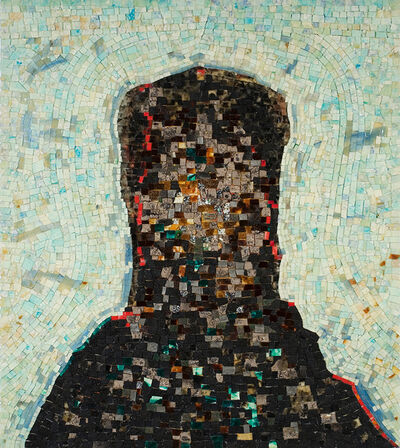 Jack Whitten, 'Black Monolith, II: Homage To Ralph Ellison The Invisible Man', 1994