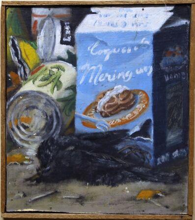 Jürg Kreienbühl, 'Meringue et corbeau mort', 1954