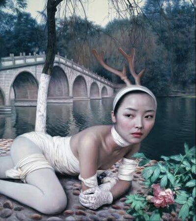 he hongbei, 'Lake Side 2', ca. 2010