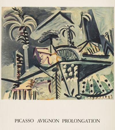 Pablo Picasso, 'Avignon Prolongation (Rodrigo 252)', 1973