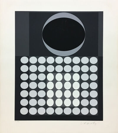 Victor Vasarely, 'Laika', 1970