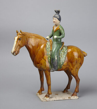 'Equestrienne', late 7th–early 8th century