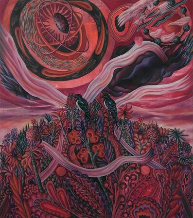 Hartmut Neumann, 'Üppige Kernzone (Schwalben)', 2013