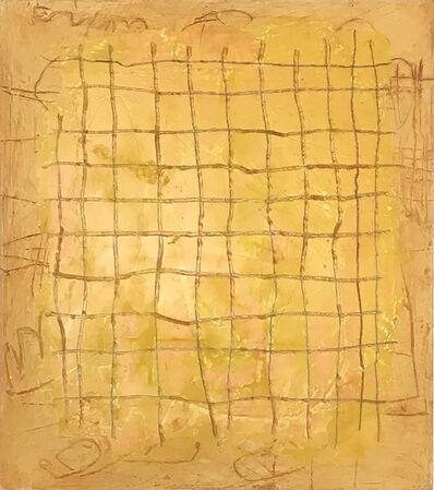 Tom E. Dixon, 'grid box yellow', 2016