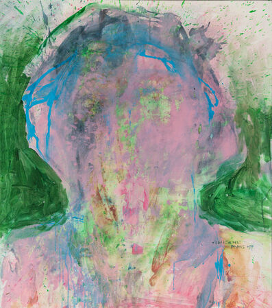 Ebtisam Al Saffar, 'The Remaining Face 3', 2017