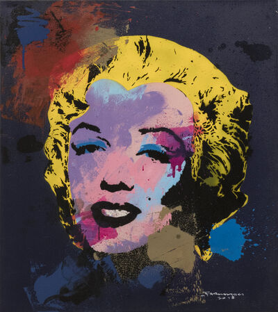 Farhan Siki, 'Splashing Marylin No.2, cm 86,5 x 76,5', 2018