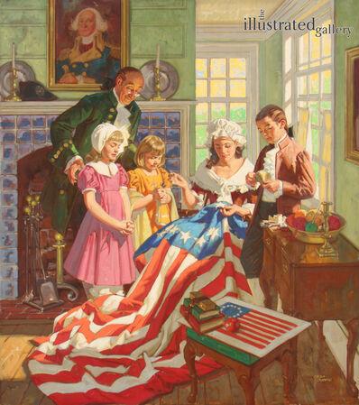 Dean Cornwell, 'Betsy Ross'