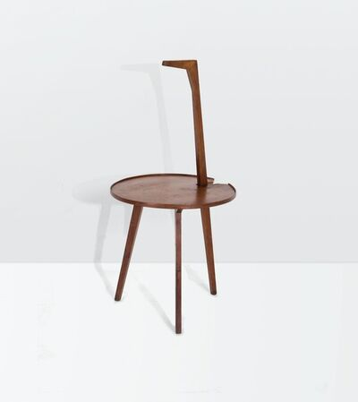 Franco Albini, 'a mod. Cicognino TN6 low table with a wooden structure and a veneered plywood top', ca. 1950