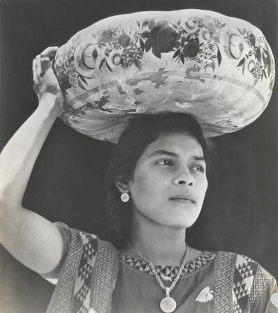 Tina Modotti, 'Woman of Tehuantepec', ca. 1929