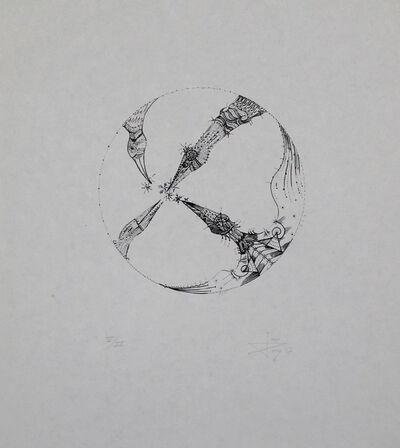 Joan Ponç, '4 pájaros (4 Birds)', 1967