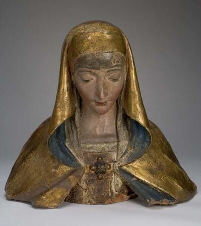 Silvestro Dell' Aquila, 'Bust of the Madonna', 1495-1500