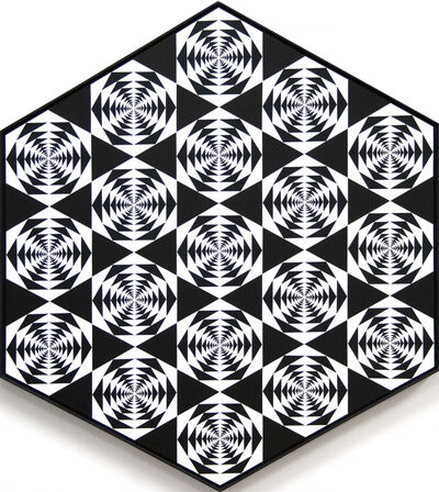 Francis Celentano, 'Nineteen Hexagons', 1966