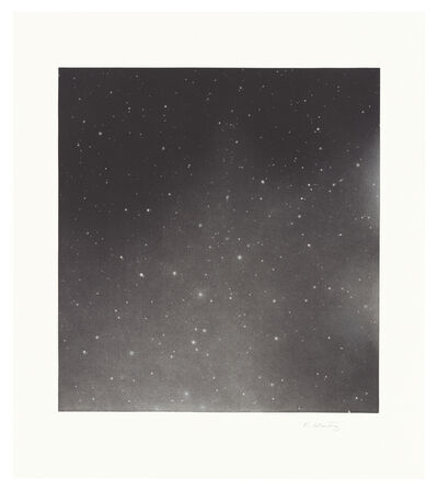 Vija Celmins, 'Untitled (Dark Sky 2)', 2016