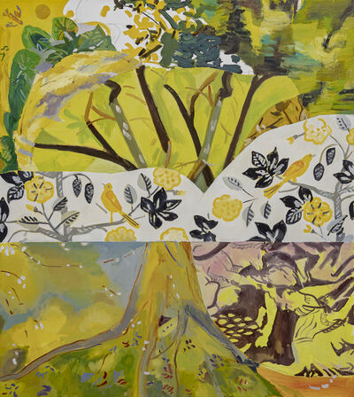 Monica Tap, 'Garden Story (Yellow Bird)', 2019