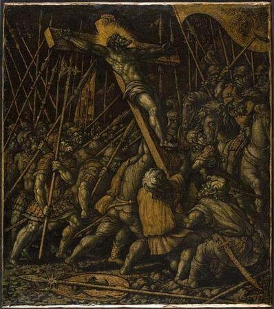 Girolamo Da Treviso (The Younger), 'Raising of the Cross', ca. 1530