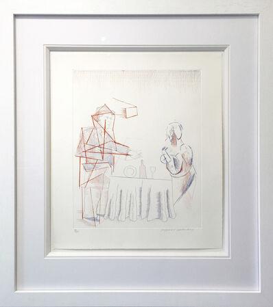 David Hockney, 'Figures with Still Life', 1976