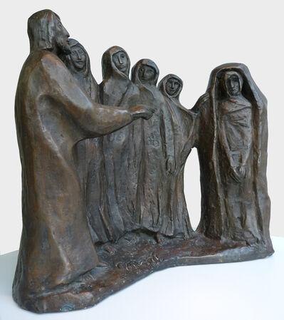 Berthold Müller-Oerlinghausen, 'Die Auferweckung des Lazarus', 1971