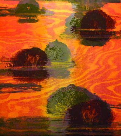 Michael Mazur, 'Gail's Island II', 2008
