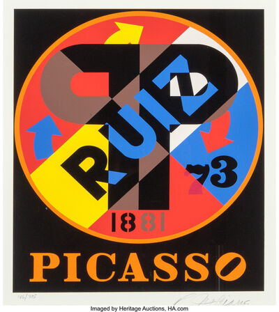 Robert Indiana, 'Picasso, from The American Dream Portfolio', 1997