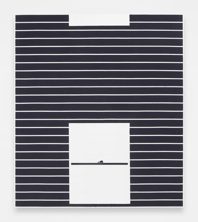 Andrew Gbur, 'House Painting (black)', 2014