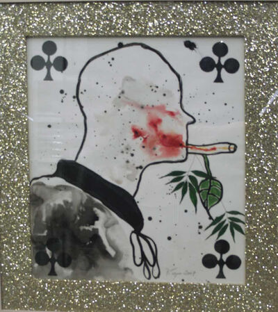 Barthélémy Toguo, 'The Smoker Marihuana at the Vatican, 1', 2007