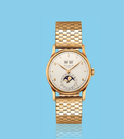 Patek Philippe, 'Yellow gold wristwatch, ref. 1526', ca. 1950
