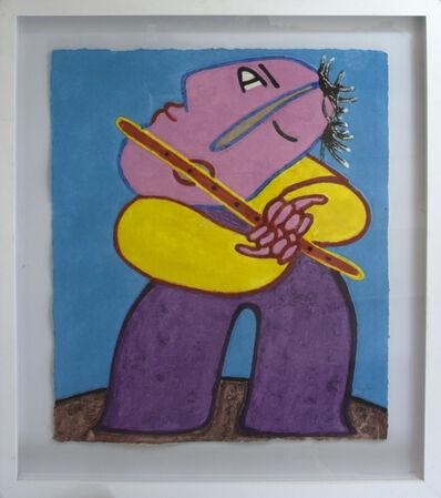 Juan Ripollés, 'Tocando la Flauta'