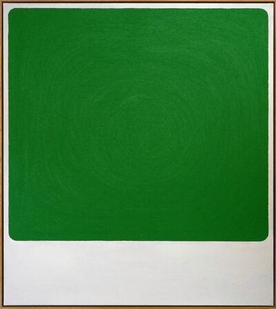 Bertrand Fournier, 'Rainbow domino (green)', 2019