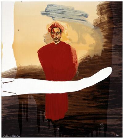 Julian Schnabel, 'Julian Schnabel, Victor Hugo Demo', 1998