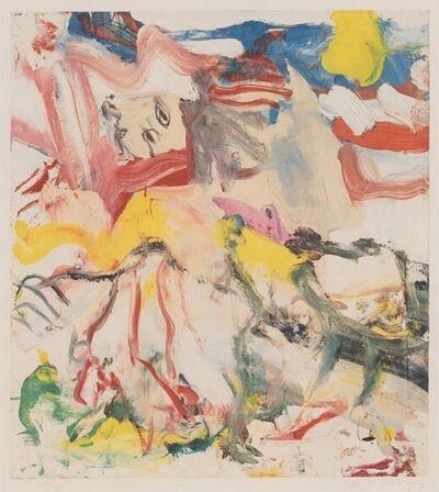 Willem de Kooning, 'Figures in Landscape VI', 1980