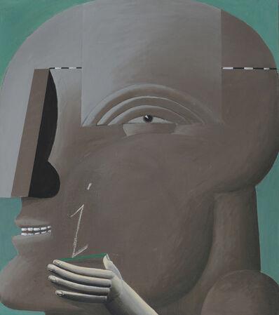 Horst Antes, 'Grauer Kopf I', 1972-1973